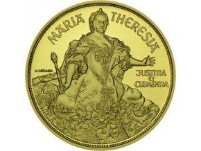 Zlatá mince Marie Terezie 1993-proof