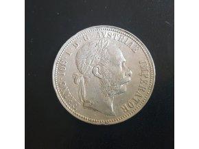 Stříbrný 1 zlatník Františka Josefa I. 1889
