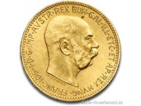 3080 investicni zlata mince rakouska dvacetikoruna novorazba