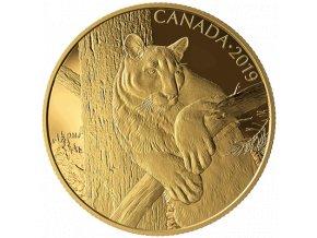 Zlatá mince Puma 2019-proof 350 CAD