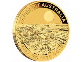 Zlatá mince Super Pit 2019-Austrálie