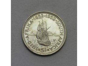 Stříbrná mince 5 Shillings - George VI Cape Town Anniversary