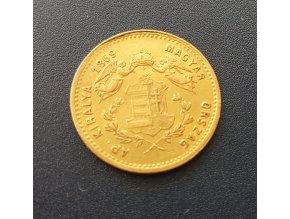 Dukát 1869 GYF