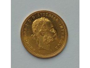 Zlatý dukát Františka Josefa I.-1879