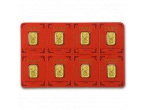 Investiční zlatý slitek PAMP Rok opice 2016 - multigram 8g