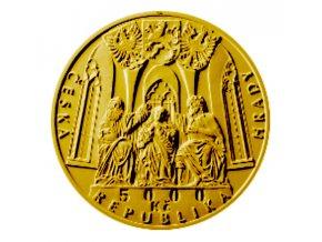 Zlatá mince hrad Švihov 2019 BK