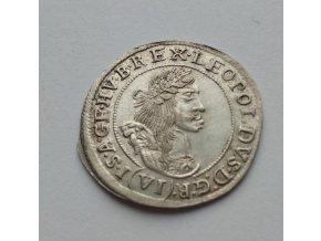 6 krejcar Leopold 1668