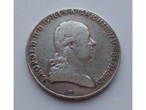 Křížový tolar Leopold II. 1792 H
