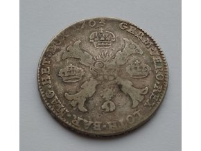 Stříbrný tolar František Lotrinský 1763