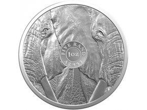 Stříbrná mince 1 Oz Slon 2019