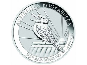 Stříbrná investiční mince Kookaburra 2020-1kg
