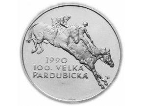 100 koruna Velká Pardubická 1990