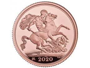 Britský sovereign 2020 proof
