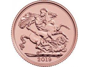 Zlatý sovereign 2019