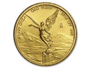 Investiční zlato-Investiční zlatá mince Libertad 1/20 Oz