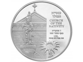 Stříbrná mince Church of the Nativity 1 Oz 2019