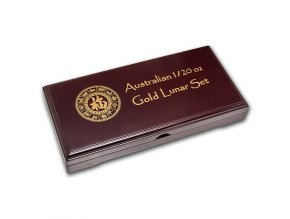 Etuje pro lunární sérii I. zlatých mincí 1/10 Oz