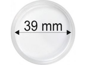 Plastová kapsle na mince o průměru 39 mm-Maple leaf