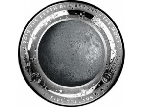 Stříbrná mince THE MOON 1 Oz