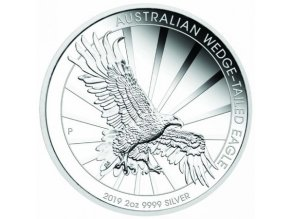 Orel klínoocasý - Wedge-tailed Eagle 2 oz (2019)