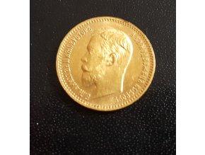 Zlatý 5 rubl 1903