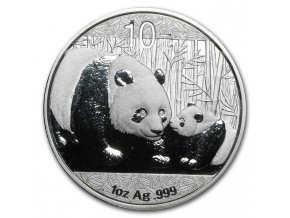 Stříbrná panda 2011 1Oz