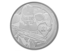 Stříbrná investiční mince Clone Trooper 1 Oz 2019