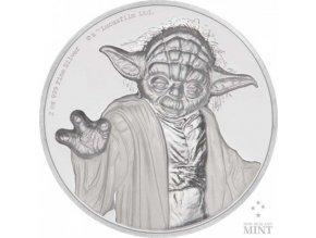 Investiční stříbrná mince Mistr YODA 2 Oz