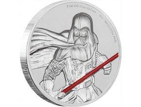 Investiční stříbrná mince DARTH VADER-Star Wars 2 Oz