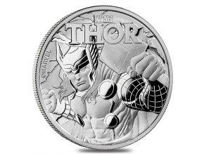 Investiční stříbrná mince  Marvel-THOR 1 Oz