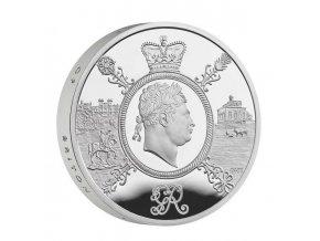 Stříbrná  mince Vláda George III. Piedfort 2020- ProofGeorge 3 double weight4