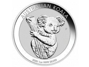 Stříbrná mince koala1 Oz 2020