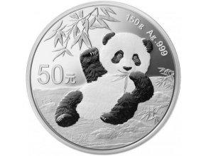 Investiční stříbrná mince Panda 150g 2019 proof