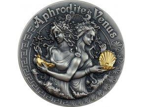 Stříbrná mince Afrodité a Venuše 2 Oz