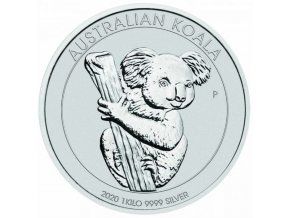 Silver koala1kg 2020