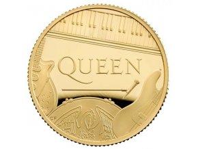 Zlatá moderní mince Queen 2020 proof