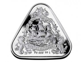 Stříbrná moderní mince Gilt Dragon 1 Oz