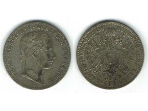 1/4 florin1858
