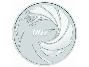 Stříbrná mince 2020 James Bond 007 1oz
