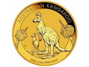 Zlatá mince Klokan2020 1/2 Oz