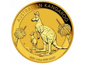 Zlatý klokan 2020 1/4 Oz