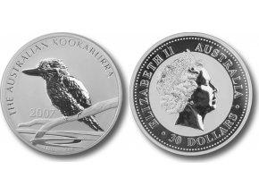Stříbrný kokabura 1 Oz 2007