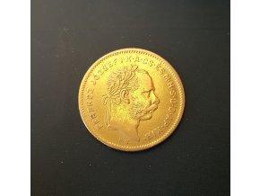 4 zlatníik František Josef I. 1876 K.B.