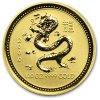 Investiční zlatá mince rok Drak 2000-lunární série I. 1/20 Oz