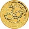 Investiční zlatá mince rok hada 2013 1/2 Oz
