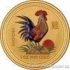Zlatá mince rok Kohouta 2005 1/2 Oz