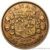3308 1 zlata mince kral george v kanada 10 dolaru