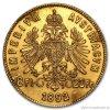 3509 1 investicni zlata mince osmizlatnik novorazba 1892