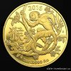 Investiční zlatá mince rok Opice 2016-lunární série Royal Australian Mint 1 Oz