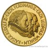 4013 zlata mince rudolf ii 500 silingu 1993 proof